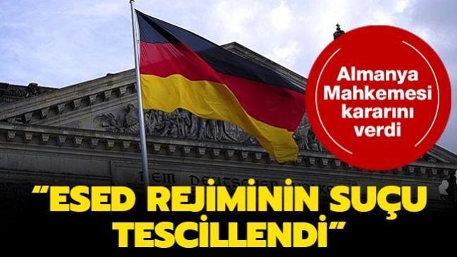 """Almanya Mahkemesi kararını verdi: """"Esed rejiminin suçu tescillendi"""""""