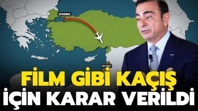 Nissan'ın eski CEO'sunun İstanbul üzerinden kaçırılması davasında hapis cezası