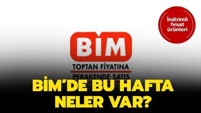 """Bugün BİM aktüel ürünlerde neler var"""" Aktüel ürünler BİM markette!"""