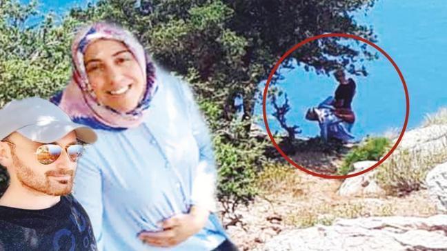 Cinayeti bir turist görüntüledi! 'Eyvah kadını atacak'