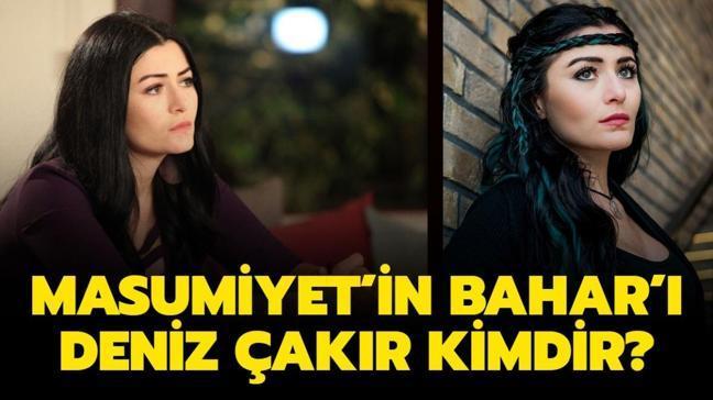 """Masumiyet'in Bahar'ı Deniz Çakır kaç yaşında, nereli"""" Deniz Çakır dizileri ve filmleri..."""
