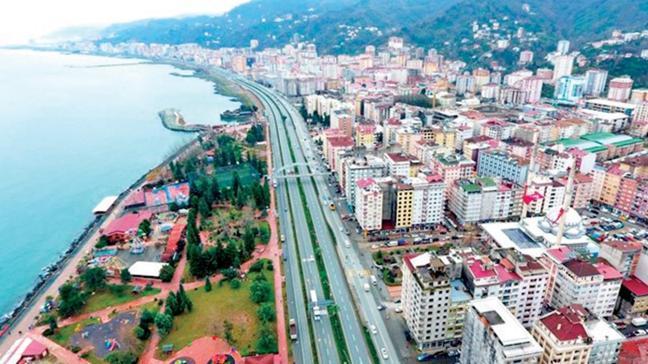 Rize'de kentsel dönüşüm başladı, kiralar katlandı