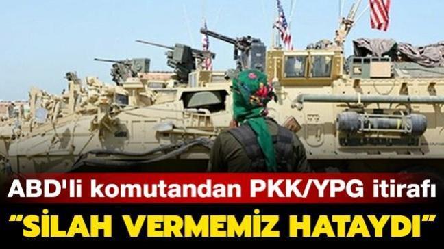 ABD'li emekli Korgeneral Ben Hodges, PKK/YPG'ye silah verdiklerini itiraf etti