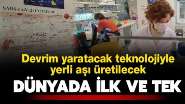 Dünyada ilk ve tek! Türkiye'de devrim yaratacak aşı teknolojisiyle yerli koronavirüs aşısı üretilecek