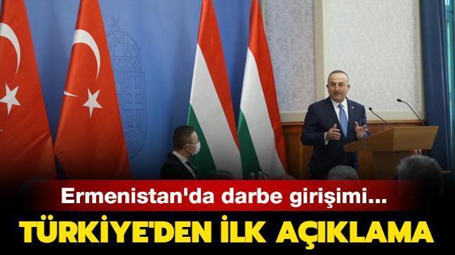 Bakan Çavuşoğlu: Darbe girişimlerini kınıyoruz