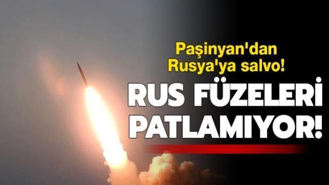 """Ermenistan'dan Rusya'ya sitem: """"İskender füzeleri patlamıyor"""""""