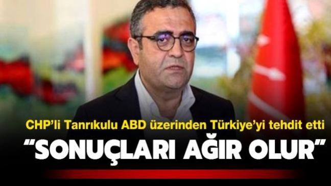 """Sezgin Tanrıkulu'ndan yeni ABD yönetimi üzerinden tehdit! """"Türkiye için sonuçları ağır olur"""""""