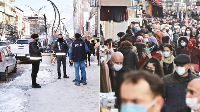 Ankara ve Doğu'da tablo iyi! Tedbirlere uyan açılır, uymayan kısıtlanır
