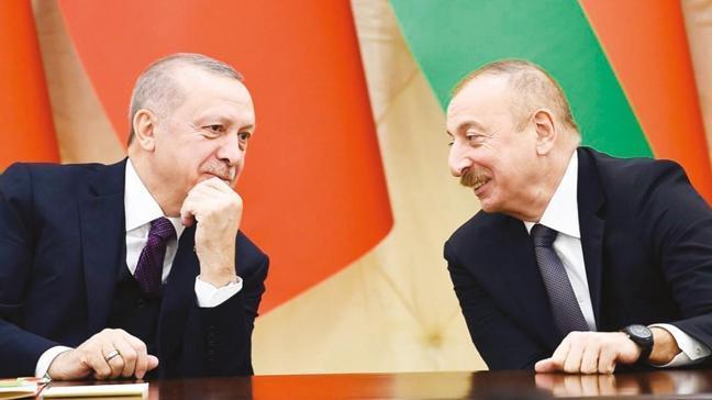 Azerbaycan Cumhurbaşkanı Aliyev'den Başkan Erdoğan'a doğum günü kutlaması