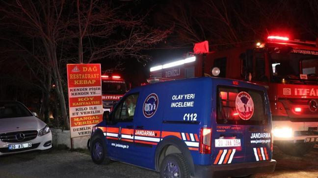 Denizli'de restoran yangını: 3 kişi hayatını kaybetti