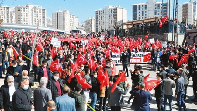 Şırnak'ta PKK'ya öfke seli