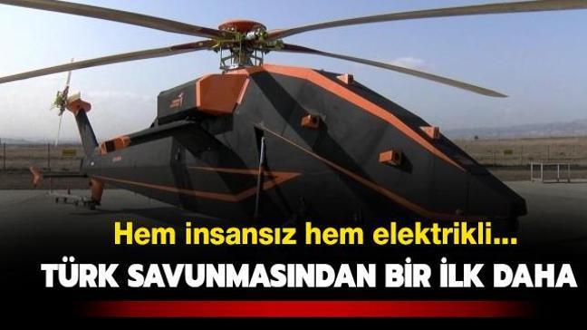 'T629' insansız ve elektrikli taarruz helikopteri ilk kez görüntülendi