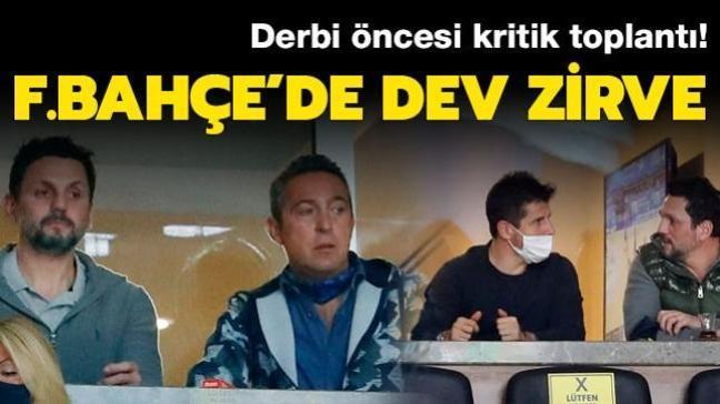 Fenerbahçe'de olağanüstü toplantı! Koç, Bulut, Belözoğlu bir araya geldi...
