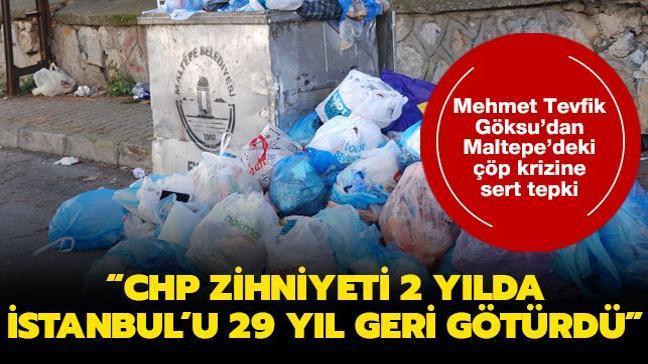 Mehmet Tevfik Göksu: CHP zihniyeti 2 yılda İstanbul'u 29 yıl geri götürdü