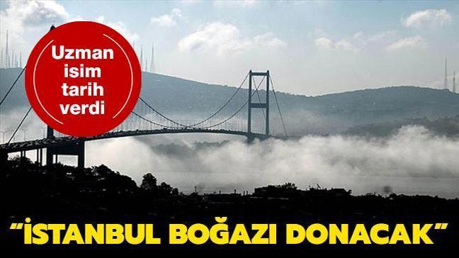 Prof. Dr. Yaşar, önümüzdeki yıllarda küresel soğumanın etkisiyle İstanbul Boğazı'nın donabileceğini açıkladı