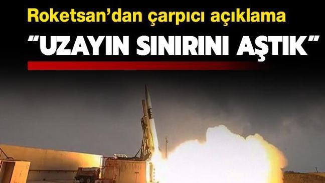 Roketsan Genel Müdürü'nden kritik açıklama: Uzayın sınırını aştık