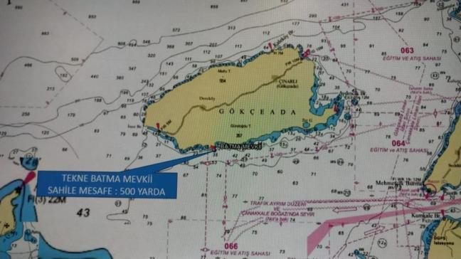 Çanakkale'de tekne faciası... Bir kişi öldü, kayıp iki kişi aranıyor