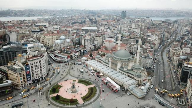 Taksim Camii'nin yapımında sona gelindi: Ramazan ayına yetişecek