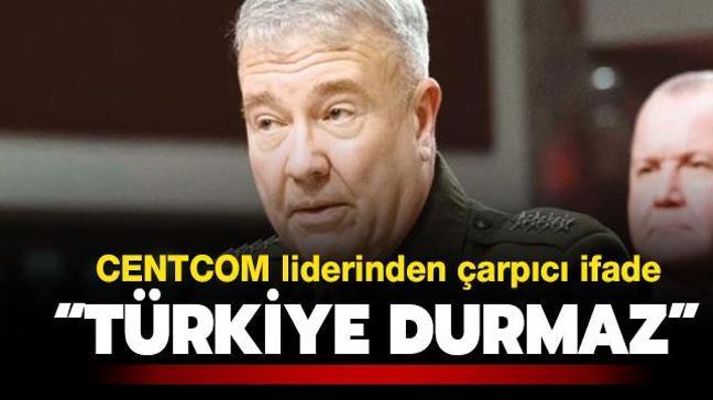 CENTCOM lideri Kenneth Frank McKenzie: Türkiye durmaz