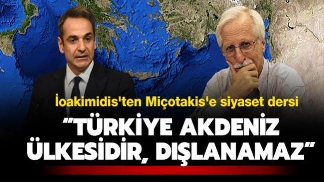 """Emekli Yunan büyükelçisinden Miçotakis'e siyaset dersi: """"Türkiye Akdeniz ülkesidir, dışlanamaz"""""""