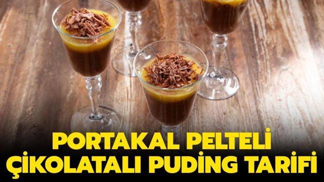 """Arda'nın Mutfağı Portakal Pelteli Çikolatalı Puding tarifi: Portakal Pelteli Çikolatalı Puding malzemeleri nelerdir"""""""