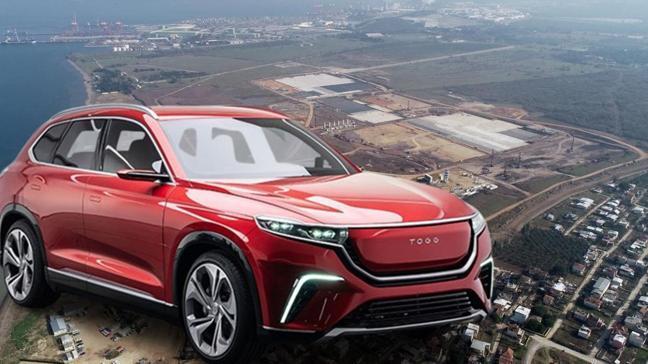 Yerli otomobil fabrikası hızla ilerliyor