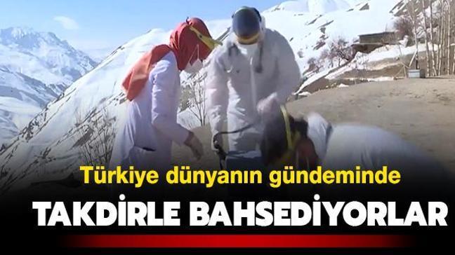 Türkiye dünyanın gündeminde: Takdirle bahsediyorlar
