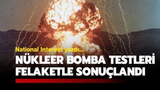 ABD'nin 1945-1992 yılları arasında gerçekleştirdiği nükleer bomba testleri pahalıya patladı