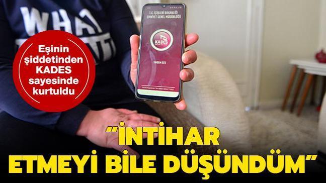 """Adana'da eşinin şiddetinden 'KADES' sayesinde kurtulan kadın: """"Cezaevinden çıkınca beni rahat bırakmaz"""""""