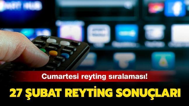 """27 Şubat reyting sonuçlarında kim zirvede"""" Gönül Dağı, İbo Show, Kuzey Yıldızı İlk Aşk reytingleri!"""