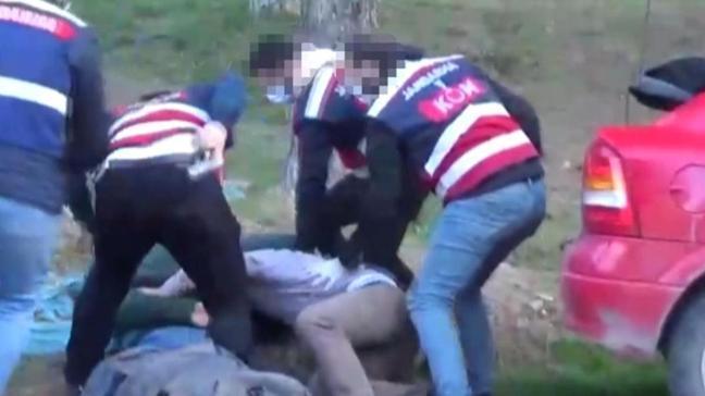 Jandarmadan nefes kesen operasyon! Bulgaristan uyruklu 2 şüpheli tutuklandı