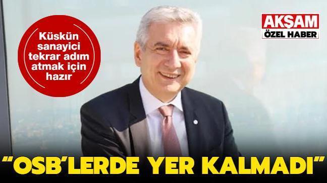 İstanbul Sanayi Odası Başkanı Erdal Bahçıvan: OSB'lerde yer kalmadı