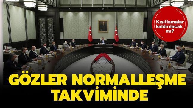 Kabine Toplantısı kararları belli oldu! İşte Başkan Erdoğan'ın açıkladığı kademeli normalleşme kararları...