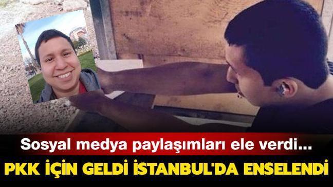 Terör örgütü PKK'nın Kosta Rika'lı adayı İstanbul'da enselendi