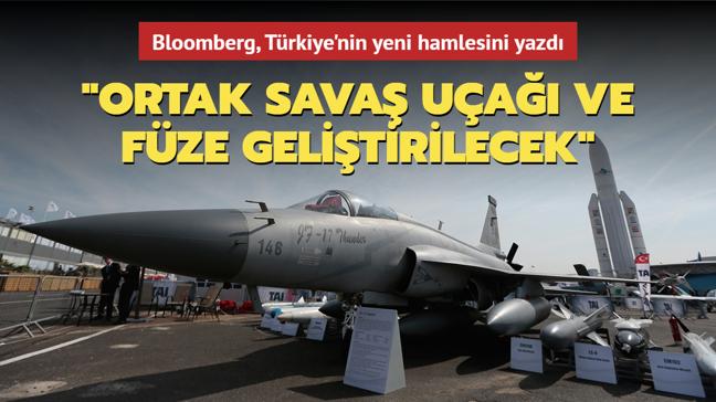 """Bloomberg: """"Türkiye ve Pakistan birlikte savaş uçağı ve füze üretmeye hazırlanıyor"""""""