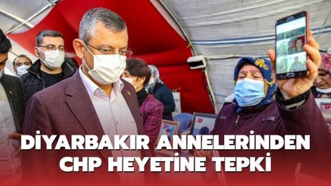 Diyarbakır annelerinden CHP heyetine tepki: Geç kaldınız