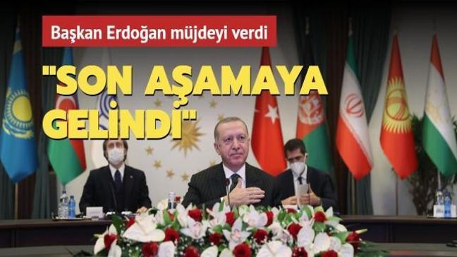Başkan Erdoğan: İstanbul-Tahran-İslamabad yük treni seferlerinin yeniden başlaması için son aşamaya gelindi