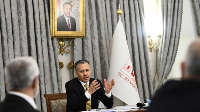 """İstanbul Valisi Yerlikaya, """"Dinamik Denetim Süreci"""" kapsamında denetimlere katılacak"""
