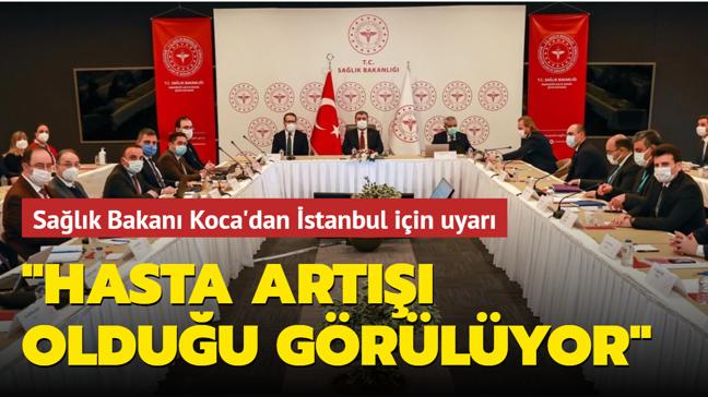 """Sağlık Bakanı Koca'dan """"koronavirüs"""" toplantısı"""