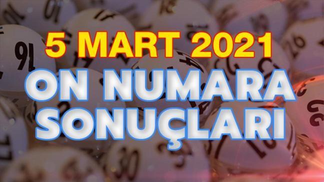 MPİ On Numara sonuçları 5 Mart 2021 açıklandı