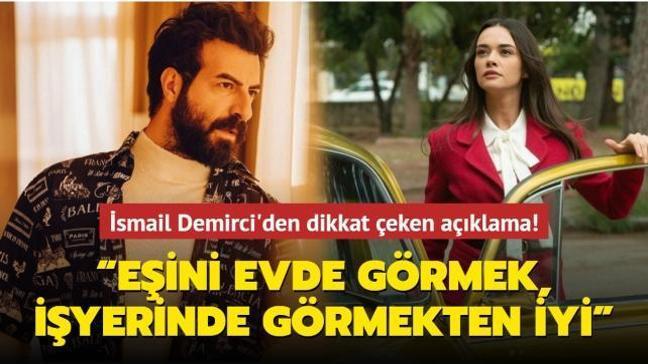 """Hande Soral'ın eşi İsmail Demirci'den olay açıklama! """"Eşini evde görmek, işyerinde görmekten iyi"""""""