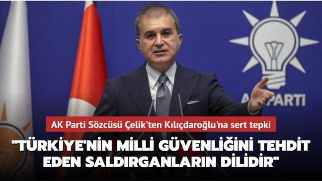 Son dakika haberleri... AK Parti Sözcüsü Çelik'ten Kılıçdaroğlu'na sert tepki