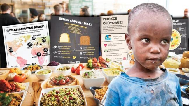 900 milyon ton... Dünyada toplam gıdanın yüzde 17'si çöpe gidiyor