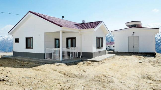 Mezrada deprem villası