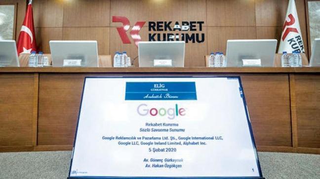 Rekabet Kurumu'nun Google cezası dünyada 'en iyiler' arasında