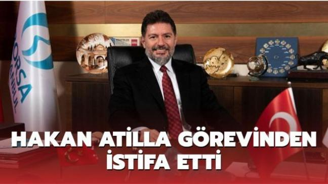Son dakika haberi: Hakan Atilla Borsa İstanbul'daki Genel Müdürlük görevinden istifa etti