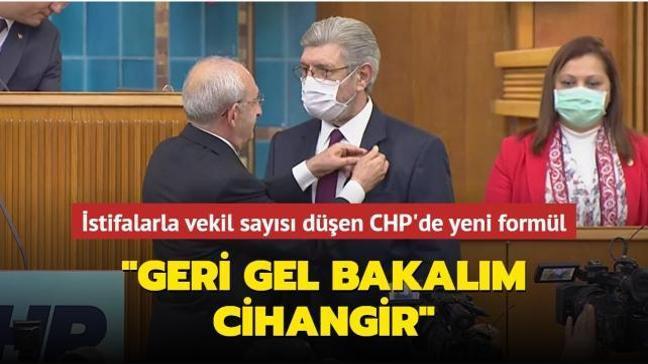 Saadet Partisi'nden istifa eden Cihangir İslam bugün CHP'ye katıldı