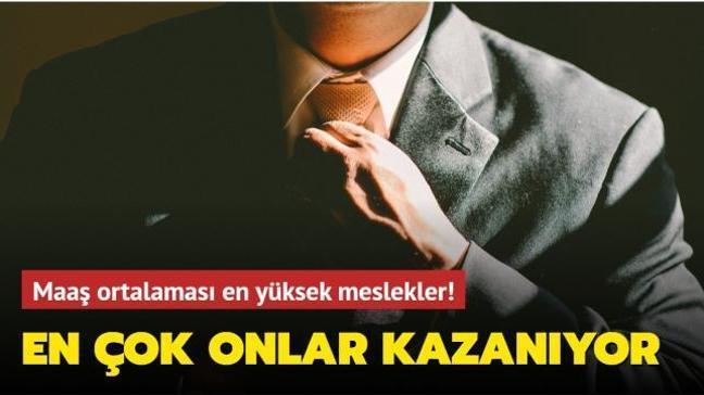 Türkiye'de en çok para kazandıran meslekler belli oldu! İşte o meslekler...