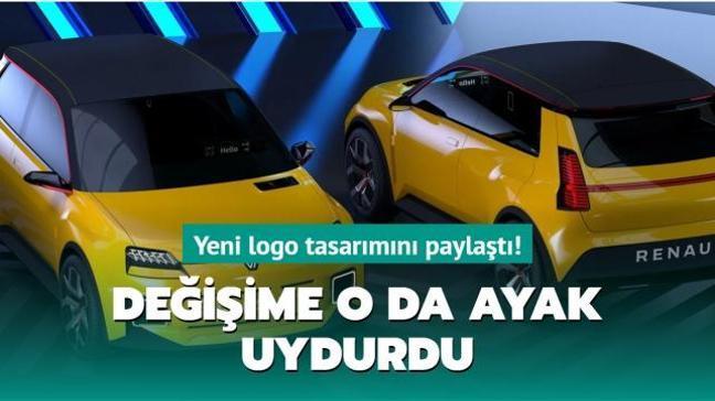 Değişime o da ayak uydurdu! Renault'un yeni logosu belli oldu!