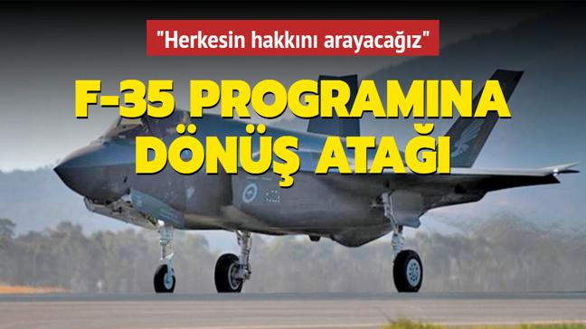 Savunma Sanayii Başkanı İsmail Demir: F-35'lerde Amerikalı şirketler de zarar ediyor